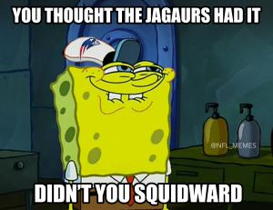 You thought the Jaguars had it